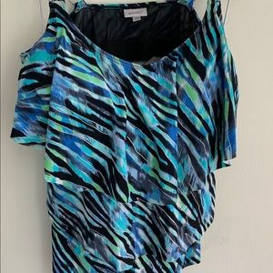Avenue Swim Suit Tank Size 20